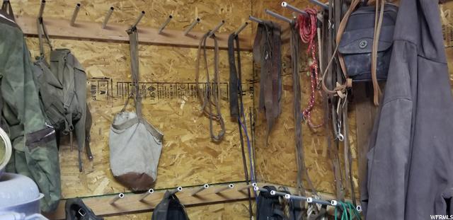 Tack Room in Garage/Workshop