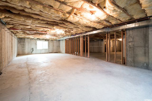 Huge Basement ready for your finish.