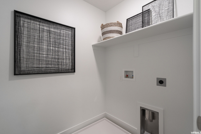 Photo of model home, not actual unit