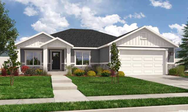 Utah County's fastest-growing home builder! Our Washington floor plan features the best in standard options, like master and great room vaulted ceilings, a 95% efficiency furnace, two-tone paint, solid knotty alder cabinets with staggered uppers and crown in the kitchen, wood closet shelving, and unlimited options to make your home uniquely yours. Choose this floor plan or any of our other incredible floor plans. Let our award-winning design team help you arrive at your forever home today!