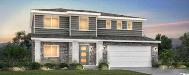 To be built: Prairie Elevation D similar to shown with gray/white exterior colors