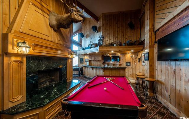 Enjoy a game of billiards