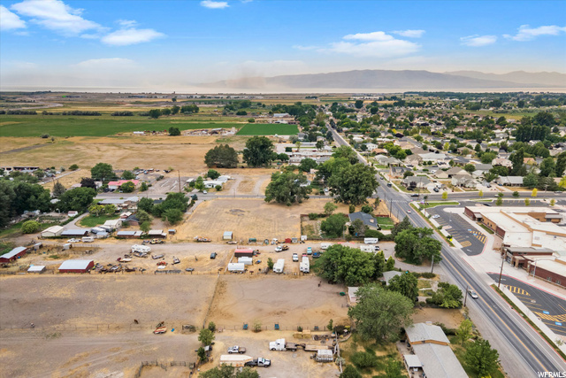Arial View Facing West