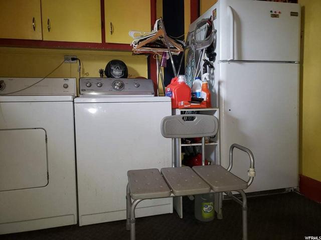 Laundry and Fridge
