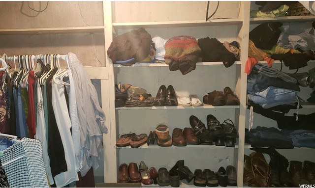 Basement Walk in Closet