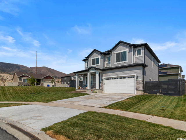 Come and see this beautiful single Family home 4 bedrooms 2 Full baths 1 half bath. With awesome view of Utah lake and the mountains. Come get this home before its gone!!! Information provided as a courtesy only, buyer and buyer agent to verify all. Square footage figures are provided as a courtesy estimate only and were obtained from County records . Buyer is advised to obtain an independent measurement
