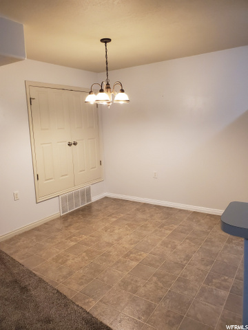 Dining with Utility Closet