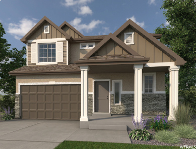 """Come out to Wander and tour our 18 model homes! This 2- story home, """"Yampa"""", is a wonderful floorplan with many upgrades including a gorgeous master suite, spa shower in the master bath, and flex space! Wander is an amazing community filled with parks, schools, hiking and biking trails, has fantastic views, is next to the springs, and much more! Check out the Guaranteed Energy Program! Call now for more information or to set up a time to show this home. (Yampa Lot 322)"""
