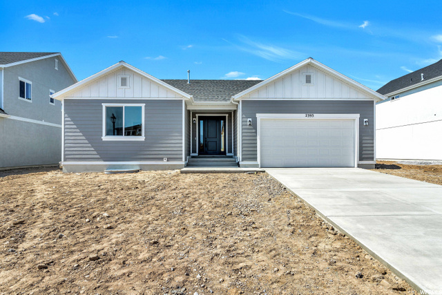 This beautiful home is our largest, most popular single story home in the Lakeside at Talons Cove community. This home has beautiful upgraded white cabinets. Granite throughout. Upgraded appliances. Home is complete and ready to move in. Part of the SSOA Homeowners Association.