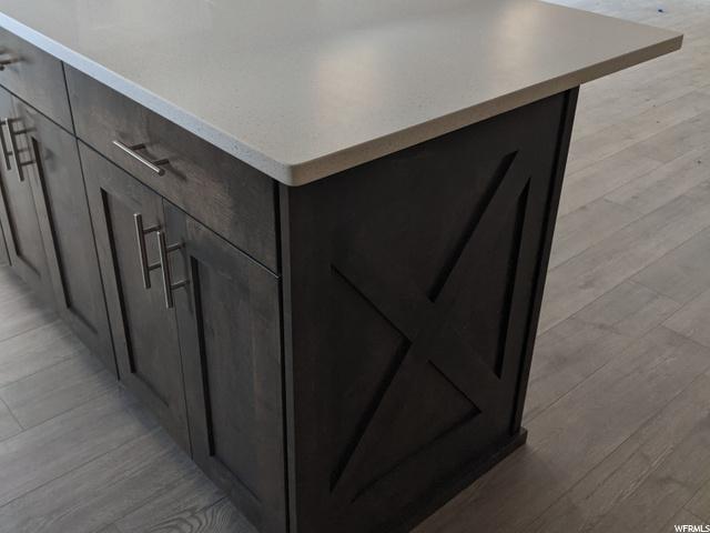 kitchen island in progress