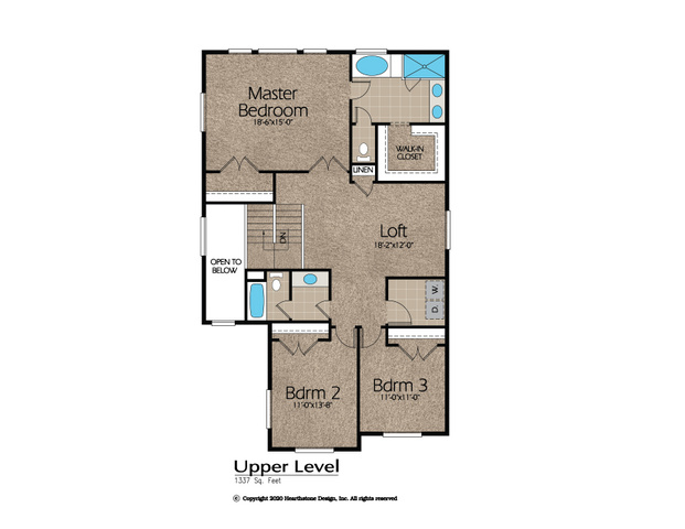 3 bedroom and loft