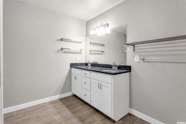 Master bath - double sink