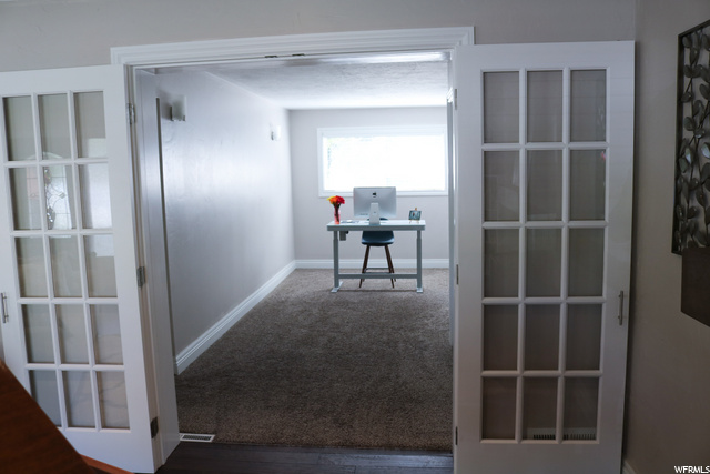 could be an office or third bedroom