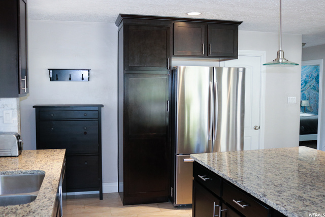 Pantry space and vacuum closet