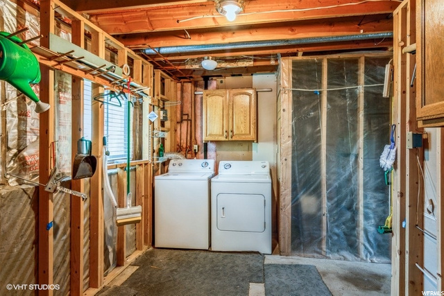 Laundry - Washer and Dryer Included