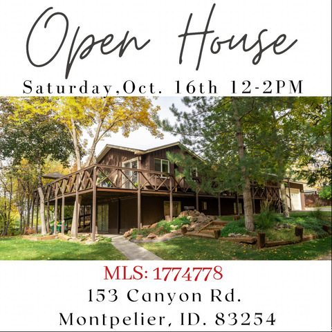 153  CANYON RD, Montpelier ID 83254